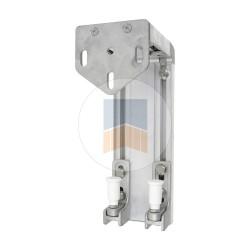 Support de guidage en Aluminium pour portail coulissant