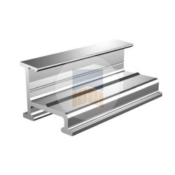 Profil de guidage ou cache crémaillère Prestige en Aluminium