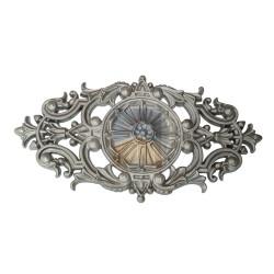Rosace de décoration en Aluminium.