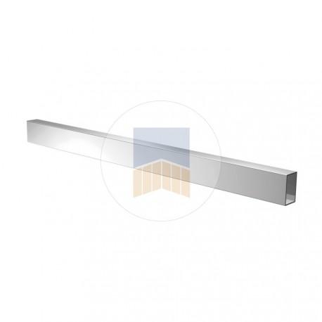 Profil en Aluminium de 50x40 avec capot longueur 6 mètres.