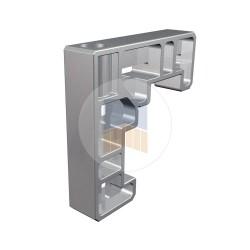 Équerre d'assemblage simple ou double coupe 45°